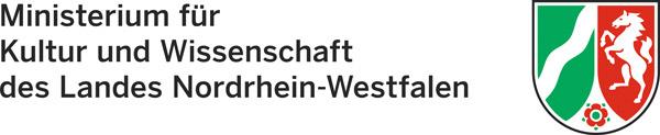 Logo vom Ministerium für Kultur und Wissenschaft des Landes Nordrhein-Westfalen